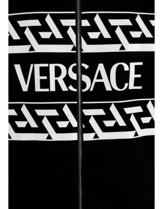 HANORAC VERSACE, Full zip, Bumbac - 10024571A017901B000