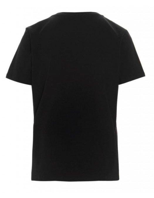 Tricou Balmain, Imprimeu Balmain Paris, Black - 11350B001EAB
