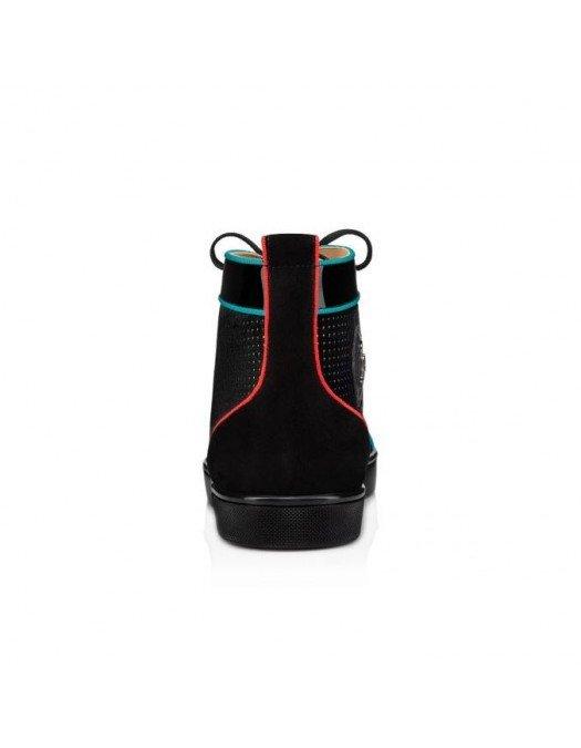 Sneakers CHRISTIAN LOUBOUTIN, Multicolor, Velvet - 1210799M039