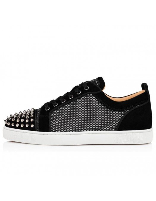 Sneakers CHRISTIAN LOUBOUTIN-LOUIS JUNIOR SPIKES ORLATO, Low - 1210852BK65