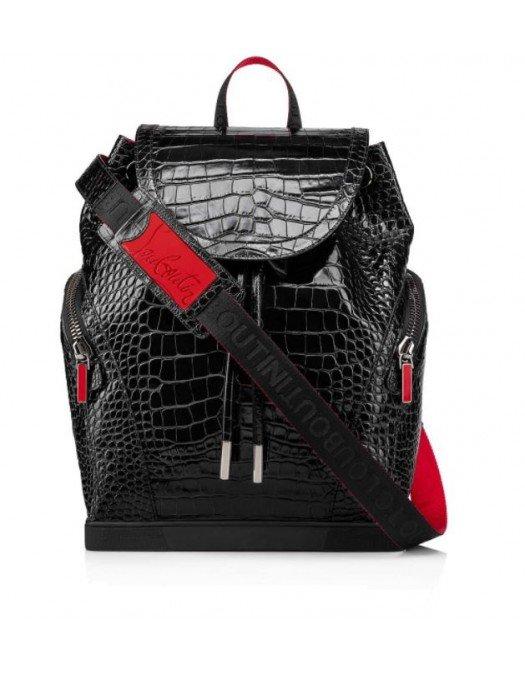 Rucsac Christian Louboutin, BLACK, Insertie brand - 1215011CM53UNI
