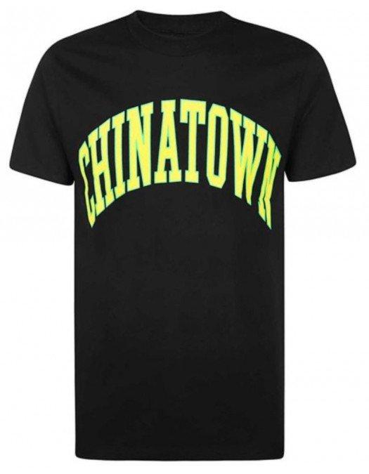 Tricou Chinatown Market, Logo colorat, Bumbac - 1990277BLACK