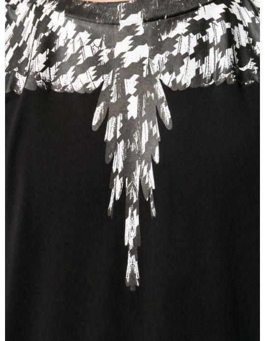 Tricou MARCELO BURLON, Insertie Grafica Alba - 20JER0031010