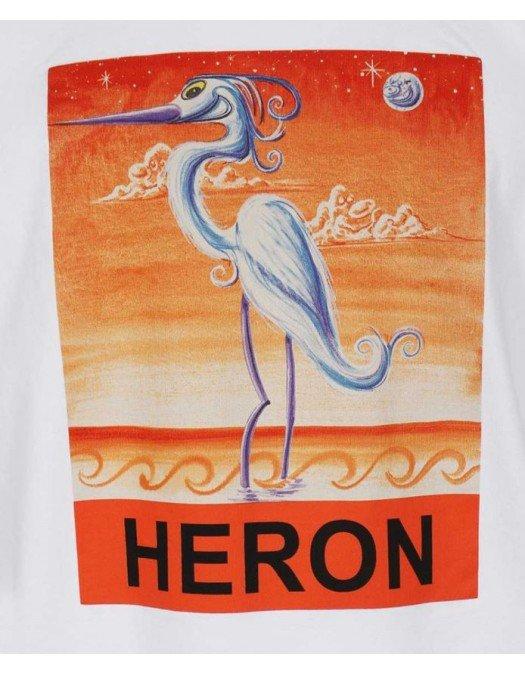 Tricou Heron Preston, Imprimeu frontal, Alb - 20JER0150120
