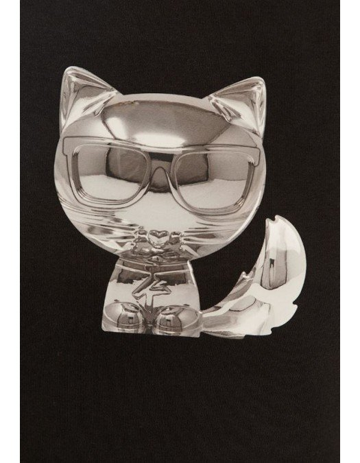 Bluza KARL LAGERFELD, Insertie cu Pisica,3D - 210W1825999