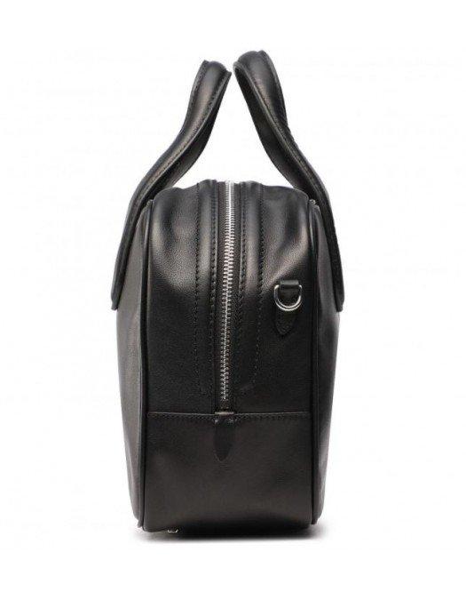 Geanta Karl Lagerfeld, Neagra, Logo metalic - 210W3074999UNI
