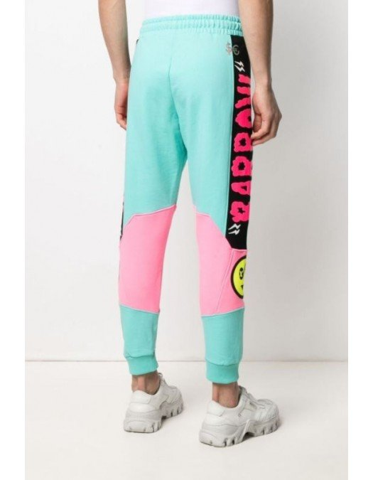 Pantaloni Barrow, Roz/Albastru, Bumbac - 28389114