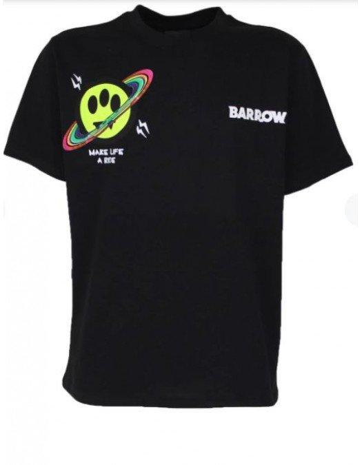 TRICOU BARROW, Logo Multicolor, Guler Rotund - 29133110