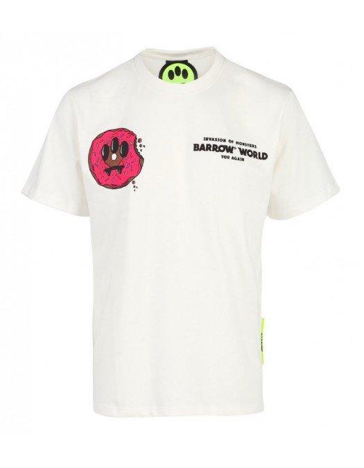 TRICOU BARROW, Donuts Print, White - 29135002
