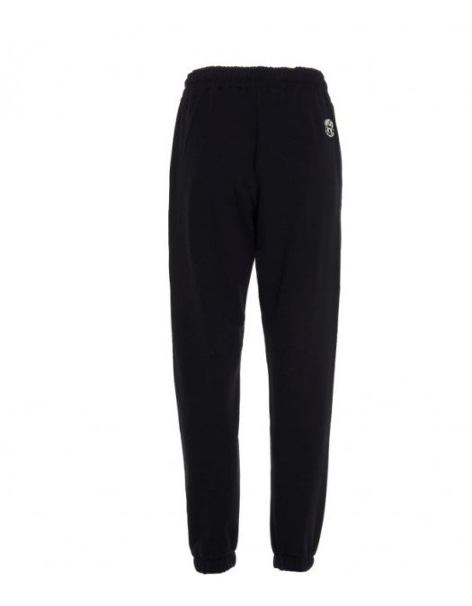 Pantaloni Barrow, Black, Logo Print Colorat - 29157110