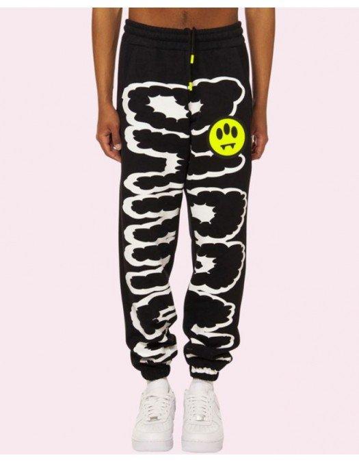 Pantaloni Barrow, Black, Logo Colorat, Unisex - 29275110