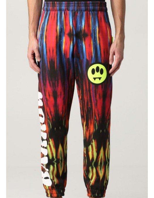 Pantaloni Barrow, Multicolor Print, Bumbac - 29562200