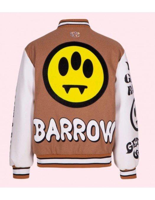 Jacheta BARROW,  Beige COLLEGE JACKET - 29565094