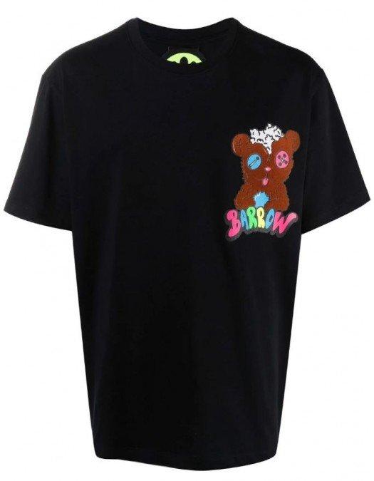 TRICOU BARROW, Crazy Tedy Bear Print, Negru - 29928110