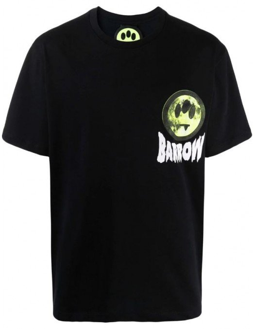 TRICOU BARROW, Back Logo Print, Negru - 29931110