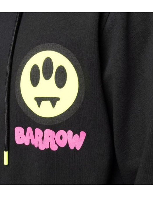 Hanorac Barrow,  Unisex Black, Print Frontal - 29948110