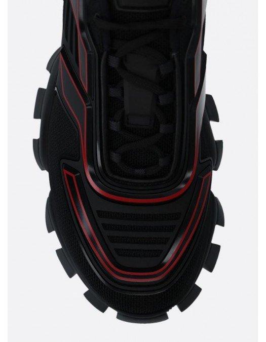 Sneakers PRADA,  Cloudbust Thunder, Black Red - 2EG2933LGNF0002