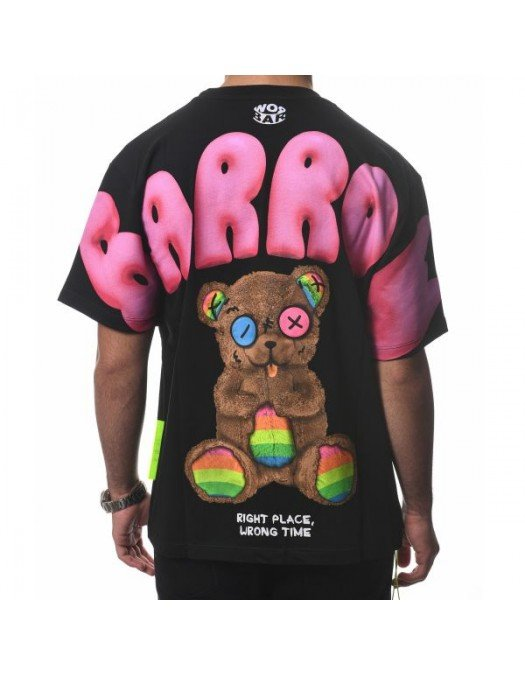 Tricou BARROW, Multicolor Print - 31111110