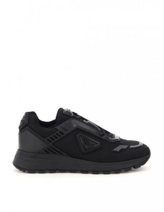 Sneakers Prada, Logo imprimat, Negru - 4E3567F0002