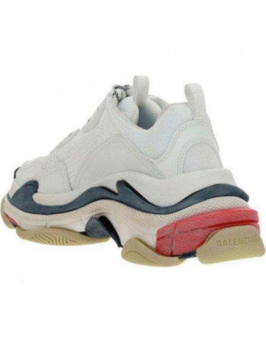 Sneakers BALENCIAGA, Rosu gri, Triple S - 524037W09OM9000
