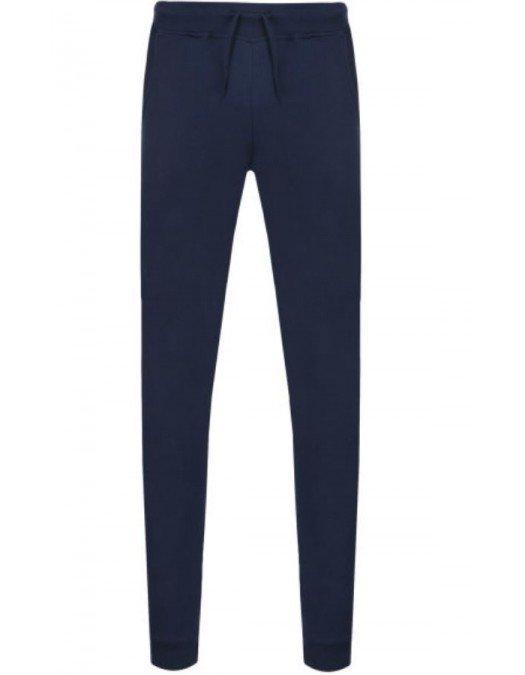 Pantalon Trussardi, Patch atasat, Albastru - 52P00051U290
