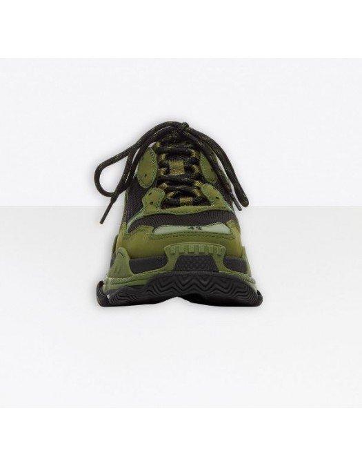 Sneakers BALENCIAGA, Triple s, Dark Green - 536737W2CA11033