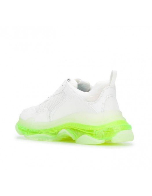 Sneakers Balenciaga, Talpa transparenta Neon - 541624W2FR19073