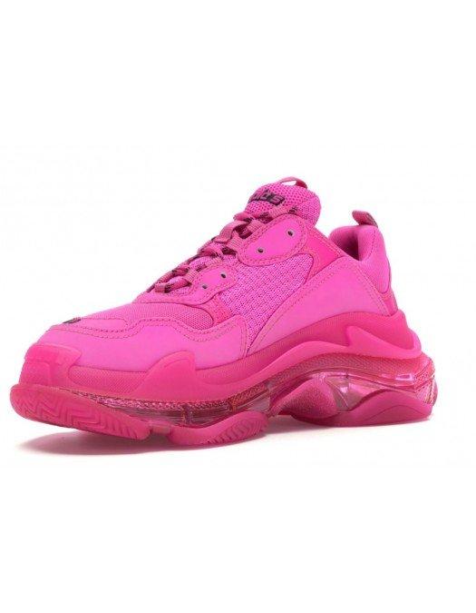 Sneakers BALENCIAGA, Talpa transparenta, Roz - 544351W2FG15059