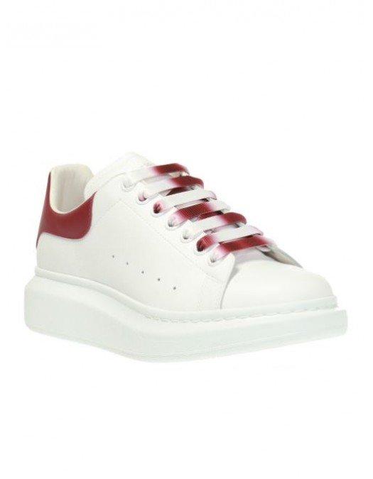 Sneakers Alexander Mcqueen, Sireturi colorate, Red - 553680WHVIP9144