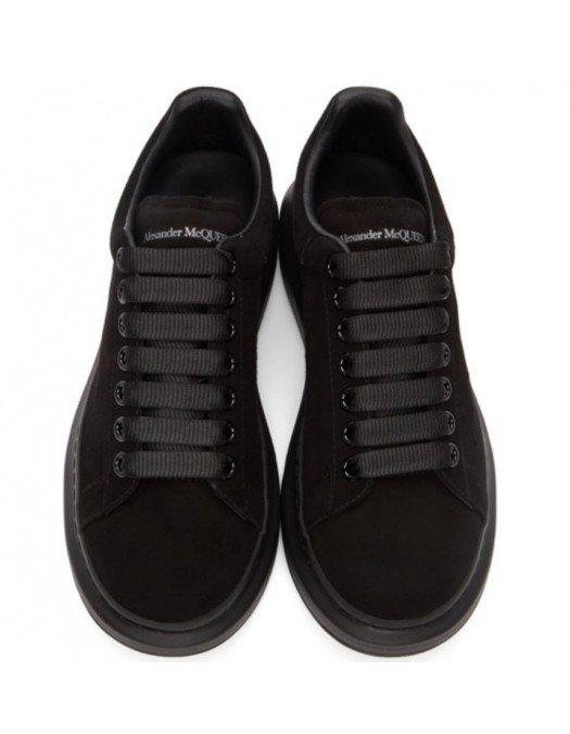 Sneakers ALEXANDER MCQUEEN, Negru Catifea Complet - 553761WHV6710