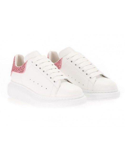 Sneakers Alexander Mcqueen, Insertie glitter roz - 558945WIA4Y9414