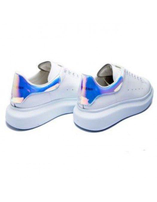 Sneakers Alexander Mcqueen, White, Shock Pink - 561726WHVI59375