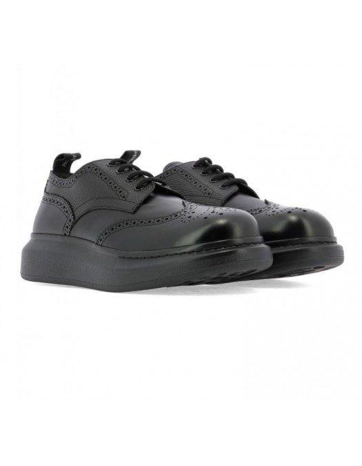 Pantofi Alexander Mcqueen, Insertii Perforate, Piele - 586200WHX5310