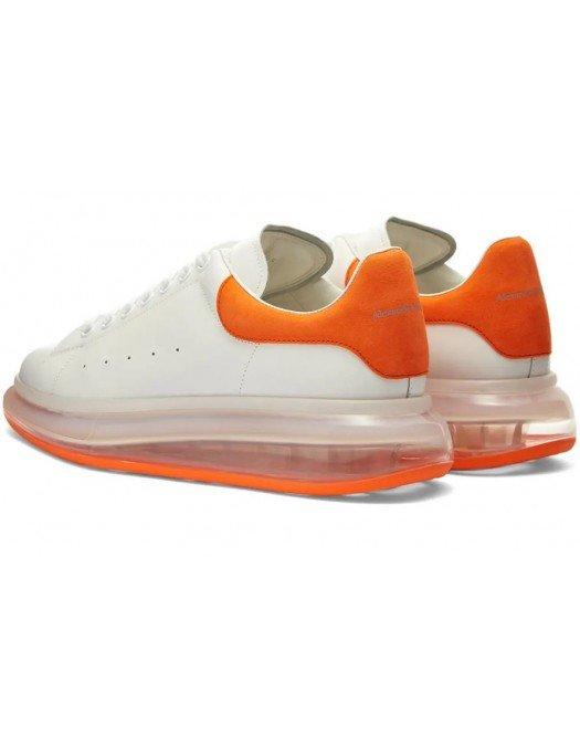 Sneakers ALEXANDER MCQUEEN, Talpa transparenta, Portocaliu - 604232WHXMA97
