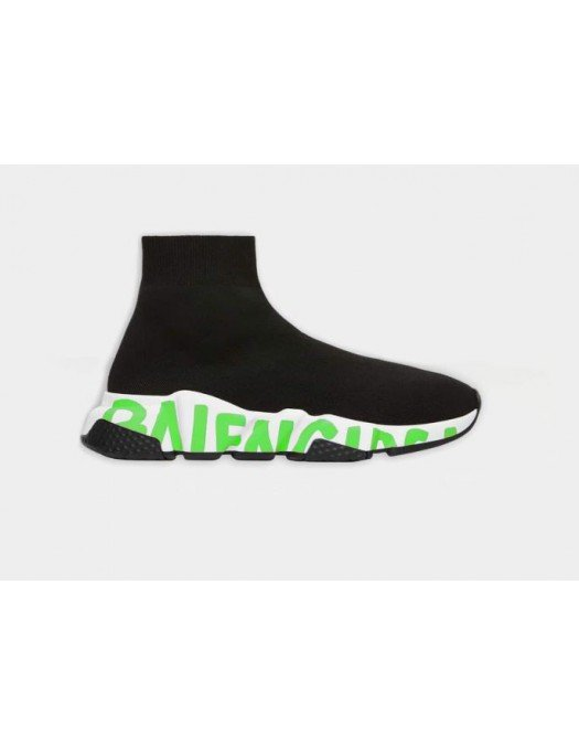 Sneakers  BALENCIAGA SPEED, Fluo Green 605942W05GY1935 - 605942W05GY1935