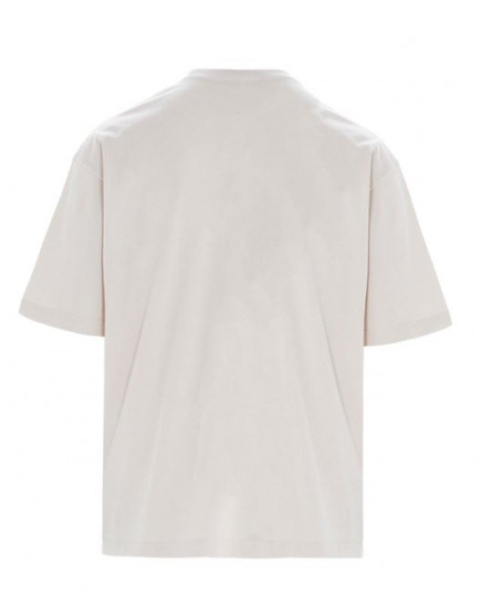 Tricou Balenciaga, Imprimeu frontal, Alb - 612966TJVD954