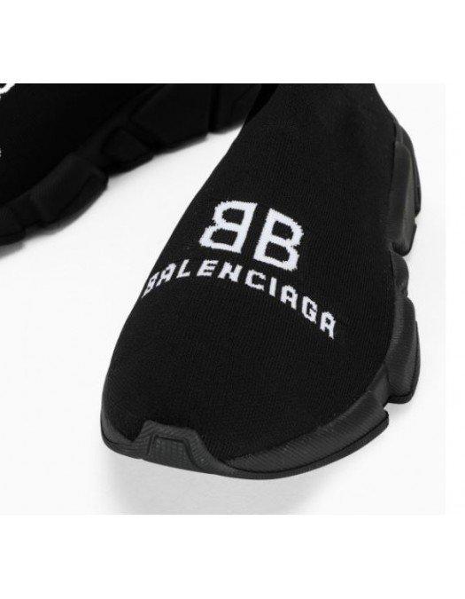 Sneakers Balenciaga, Insertie Logo, Negru - 617238W2A5110