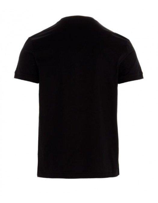 Tricou Alexander Mcqueen, Negru, Insertie Brand - 624180QQX0110