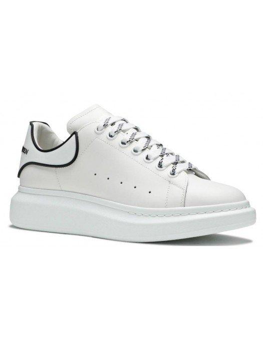 Sneakers ALEXANDER MCQUEEN, Alb cu negru - 625156WHXMT74