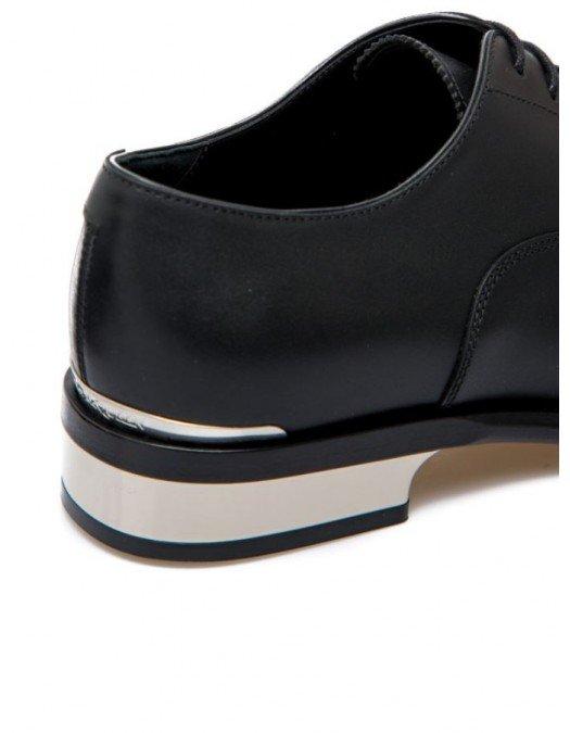 Pantofi  Alexander Mcqueen, Logo, Leather - 627210WHYH21081