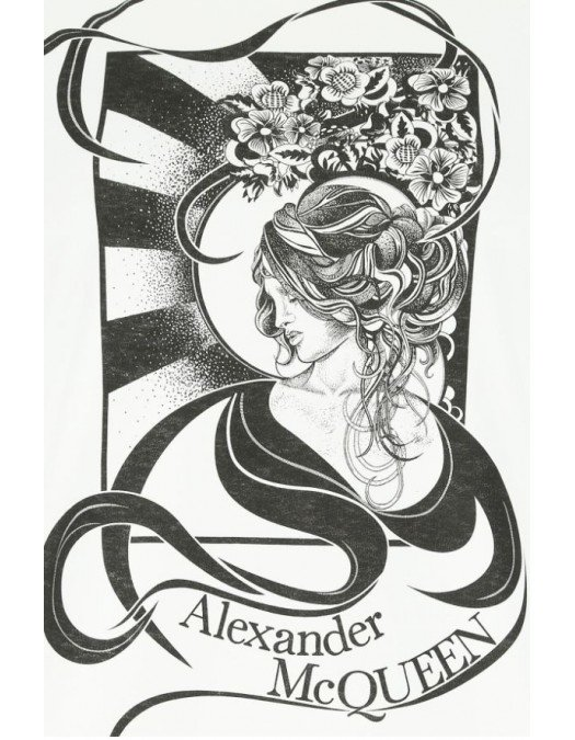 TRICOU ALEXANDER MCQUEEN - 634165QZABT00