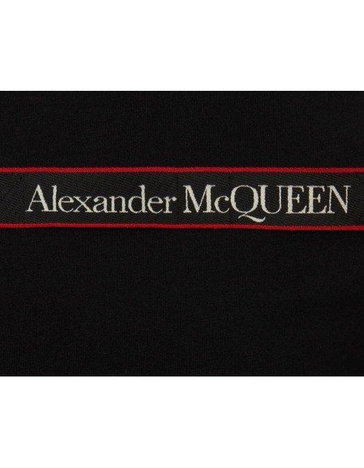 Tricou Alexander Mcqueen, Insertie Rosie, Bumbac - 642662QQX7410
