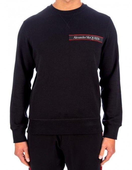 Bluza Alexander Mcqueen, Red Logo -