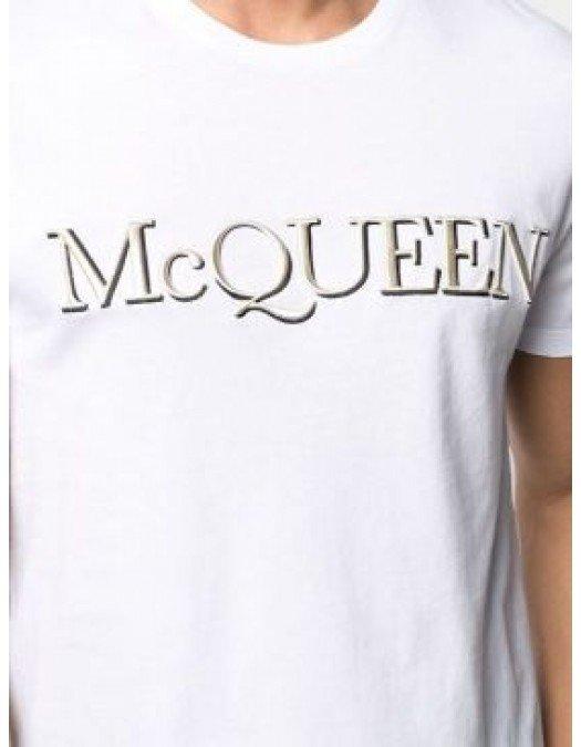 Tricou Alexander Mcqueen, Imprimeu Text - 649876QQZ560900