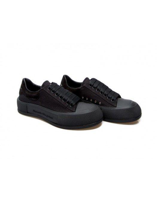 Sneakers Alexander Mcqueen, Logo negru pe talpa - 654594W4MV71000