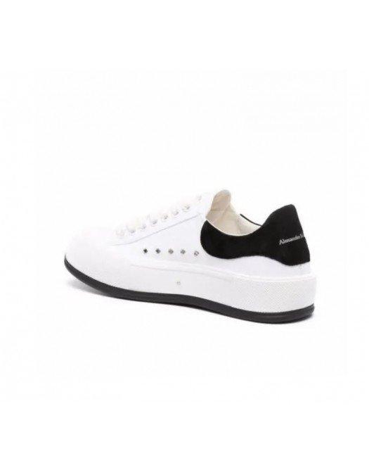 Sneakers Alexander Mcqueen, Logo, White - 654594W4MV79061