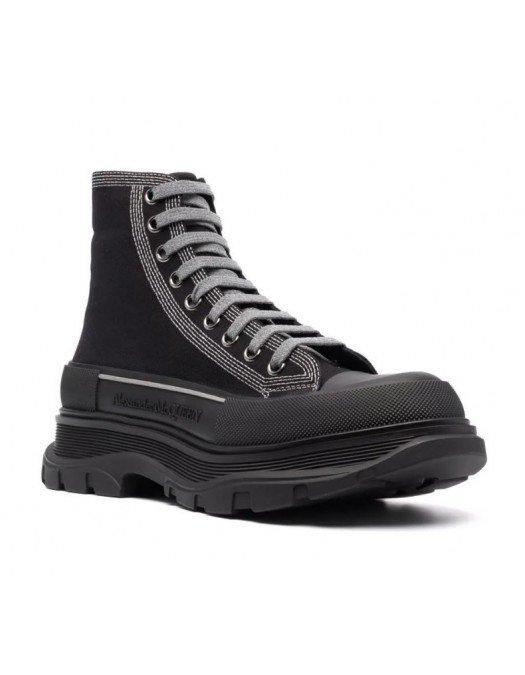 Sneakers Alexander Mcqueen,  Black, High-Top - 662681W4MV81081