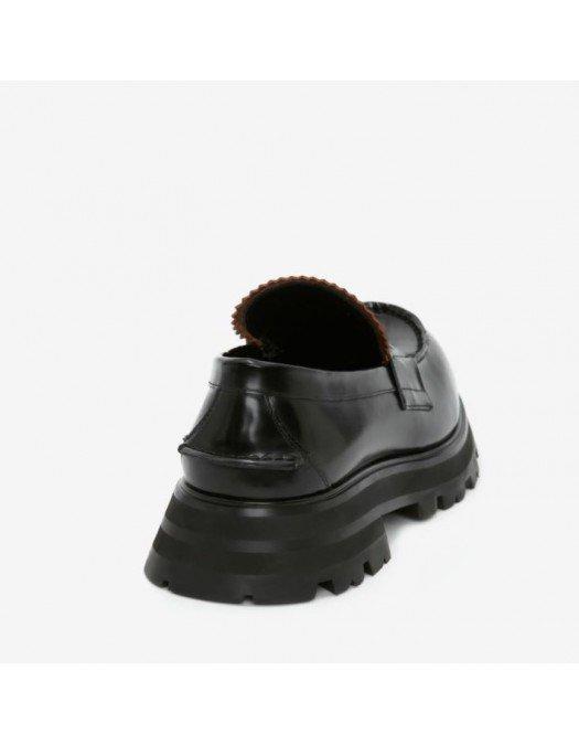 Pantofi Alexander Mcqueen, WORKER BRUSHED - 664618WHZ801000