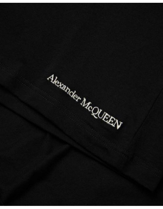 Tricou ALEXANDER MCQUEEN, Embroidered Skull - 666613QRX041000