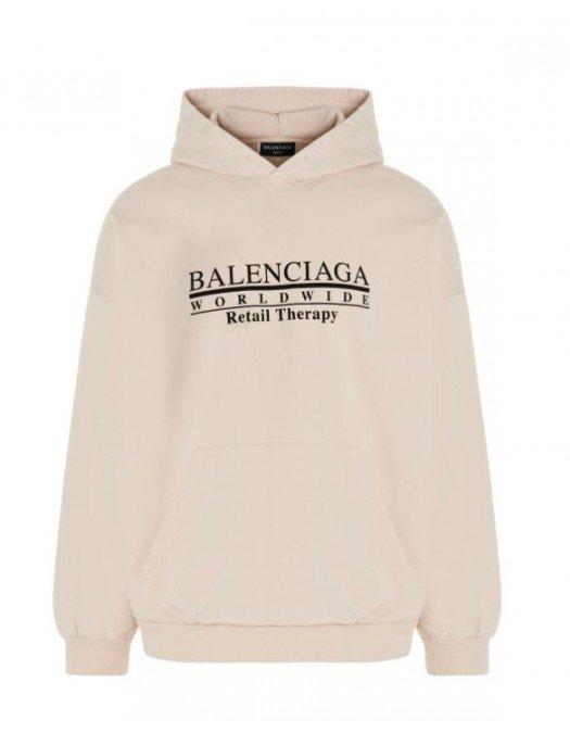 HANORAC BALENCIAGA, Retail Therapy, Beige - 674986TLVA99054